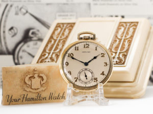 Hamilton Grade 917 – Original Box and Papers with Matching Serial Number